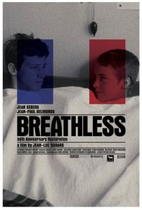 BREATHLESS - American 50th Anniversary Poster by Rodarte 1